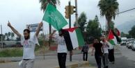 İsrail'e Tepki İçin Gazze'ye Yürüyen Aile İskenderun'a Ulaştı