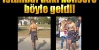 İstanbul' daki Lady Gaga Konserine Böyle Geldi !