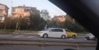İstanbul Trafiğinde Tehlikeli Anlar
