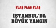 İstanbulda büyük yangın