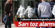 İstanbulda sarı toz alarmı