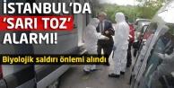 İstanbulda sarı toz alarmı!