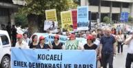 İzmit'te 'dünya Barış Günü' Yürüyüşü