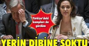 Jolie, yerin dibine soktu!