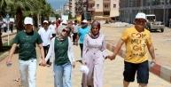 Kahramanmaraş'ta 'sağlıklı Yaşam Ve Hareket Yılı' Yürüyüşü