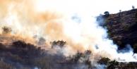 Kayseri'deki Ali Dağı'nda Yangın Çikti