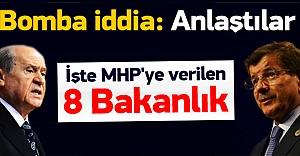 Koalisyon tamam! İşte MHP#039;ye...