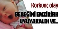 Kocaelinde şok olay! 1 aylık bebek boğularak öldü