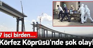 Körfez Köprüsü'nde korkutan olay!