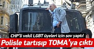 Mahmut Tanal yine TOMA#039;ya çıktı