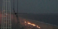 NASA roketi havada infilak etti
