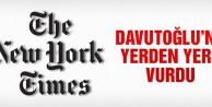 New York Times, Davutoğlu'nu yerden yere vurdu!