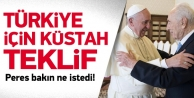 Peres'ten Türkiye için çirkin öneri!