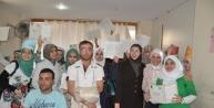 Reyhanlı'daki Suriyeli Öğrenciler Karne Aldı