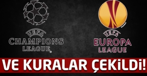 Şampiyonlar Ligi ve UEFA Avrupa Liginde kuralar çekildi!