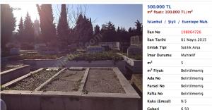 Satılık mezar yerleri! Fiyatı dolarla çünkü...