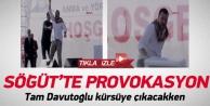 Söğüt'te provokasyon: BBP'liler olay çıkardı!