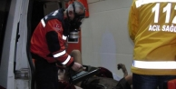 Suriyeli Yarali Kbrn Cihaziyla Kontrol Edildi