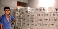 Suriyeliler İçin Toplanan Yardım Kolileri Şanliurfa'da Bulundu
