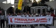 Tokat'ta Işid Protestosu