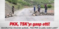 TSK: PKK 6 beton mikserini terörist mezarı için gasp etti