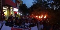 Tunceli'de Mumlar Barışa Yakıldı