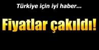 Türkiye için iyi haber! Fiyatlar çakıldı!