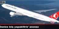 Uçakta denize iniş yapabiliriz anonsu