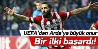 UEFAdan Ardaya büyük onur! Bir ilki başardı!
