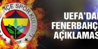 UEFAdan Fenerbahçe açıklaması