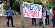 Üniversiteliler Kizli Erkekli Forum Düzenledi