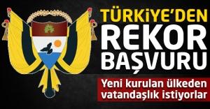 Yeni kurulan ülkeye Türkiye'den rekor...