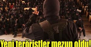 Yeni teröristler mezun oldu