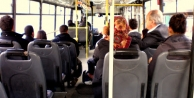 Yolcu otobüsünde çiş yapınca...