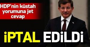 Başbakanlık HDP randevusunu iptal etti