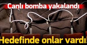 2 canlı bomba yakalandı: Hedeflerinde...
