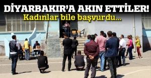 Diyarbakır'da 742 bekçi kadrosu için 5 bin 630 başvuru