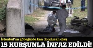 Eyüp'te kan donduran cinayet! 5'i kafasına 15 kurşun...