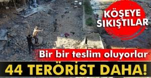 Nusaybin'de 44 terörist daha teslim oldu
