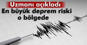 En büyük deprem riski Midilli'nin güneyinde
