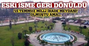 Bakan Ala devreye girdi, Ahmet Taner Kışlalı Meydanı'nın adı değişmedi