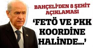 Devlet Bahçeli: FETÖ ve PKK saldırıları koordinelidir