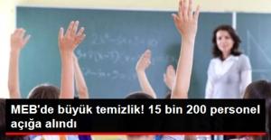 Milli Eğitim Bakanlığı'nda Temizleme!