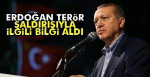 Cumhurbaşkanı Erdoğan Gaziantep ile ilgili bilgi aldı