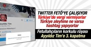Twitter FETÖ'cüleri deşifre eden Ayyıldız Tim'i kapattı