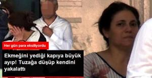 Ev Sahibi, Parasını Çalan Hizmetçiyi Suçüstü Yakalattı