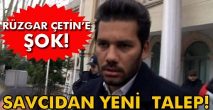 Rüzgar Çetin'e verilen cezaya savcıdan temyiz