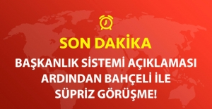 Son Dakika! Başbakan Yıldırım ve MHP Lideri Bahçeli Yarın Görüşecek