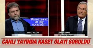 Deniz Baykal Ahmet Hakan'ın kaset sorusuna yanıt verdi