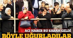 Şehit Kaymakam Muhammet Fatih Safitürk'ün cenazesinde gözyaşları sel oldu